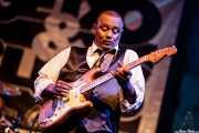 Bruno Speight, guitarrista de Maceo Parker, Getxo & Blues - Pza. Biotz alai, Getxo. 2015