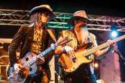 Eric Sardinas, cantante y guitarrista de Eric Sardinas & Big Motor, Getxo & Blues - Pza. Biotz alai, Getxo. 2015