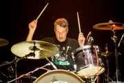 Graham Watson, baterista de Bum, Kafe Antzokia, Bilbao. 2015