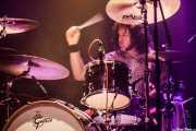 Eric Skodis, baterista de Redd Kross, Kafe Antzokia, Bilbao. 2015
