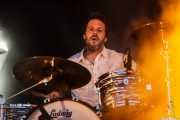 Javi Gonzalez, baterista de Smile, Mundaka Festival, Mundaka. 2015