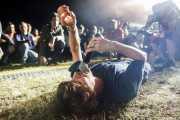 John Franks, cantante y guitarrista de Smile, Mundaka Festival, Mundaka. 2015