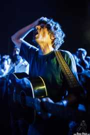 John Franks -voz y guitarra- y Ferdy Bretón -bajo- de Smile, Mundaka Festival, Mundaka. 2015