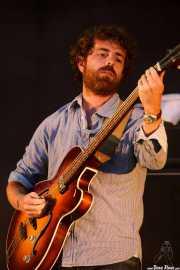 Ferdy Breton, bajista de Smile, Mundaka Festival, Mundaka. 2015