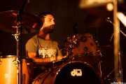 Aratz Etxeberria, baterista de Rural Zombies, Mundaka Festival, Mundaka. 2015