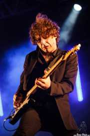 Josu Garcia, guitarrista de Loquillo, Mundaka Festival, Mundaka. 2015