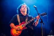 Aitor Cañibano, guitarrista de Travellin' Brothers Big Band, Mundaka Festival, Mundaka. 2015
