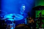 "David Rodríguez ""Deibol"", baterista de Unclose, Mundaka Festival, Mundaka. 2015"