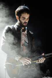 Jon Aguirrezabalaga, guitarrista de We are standard, Mundaka Festival, Mundaka. 2015