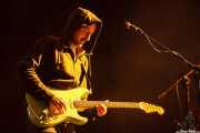 Juan Escribano, guitarrista de We are standard, Mundaka Festival, Mundaka. 2015