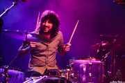 Guantxe, baterista de Inoren ero ni, Kafe Antzokia, Bilbao. 2015
