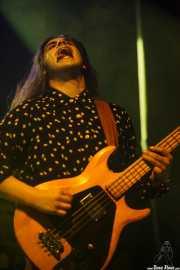Chad Ubovich, cantante y bajista de Fuzz, Kafe Antzokia, Bilbao. 2015