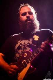 """David Maca """"Macón"""", guitarrista de Toundra, Kafe Antzokia, Bilbao. 2015"""