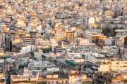 Vista de Atenas desde Lofos Filopappou (Filopapos) (17/09/2015)
