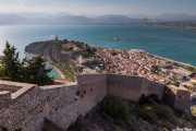 Vista de Nauplia desde la Fortaleza Palamidi (Giaxich y Lasalle, s.XVIII) (19/09/2015)