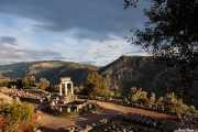 Tholos de Delfos en el Santuario de Atenea Pronaia (Teodoto, s.IV a.c.) (22/09/2015)