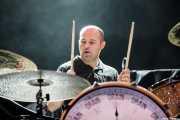 Galder Izagirre, baterista de Berri Txarrak, Bilbao Exhibition Centre (BEC), Barakaldo. 2015