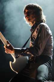 Mattias Bärjed, guitarrista (en gira) de Refused, Bilbao Exhibition Centre (BEC), Barakaldo. 2015
