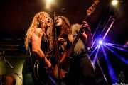 Jared James Nichols -voz y guitarra- y Erik Sandin -bajo-, Santana 27, Bilbao. 2015