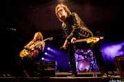 Doug Aldrich -guitarra- y Glenn Hughes -voz y bajo- de Glenn Hughes Band, Santana 27, Bilbao. 2015