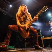 Doug Aldrich, guitarrista de Glenn Hughes Band, Santana 27, Bilbao. 2015