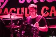 Brown Barcella, baterista de Nikki Corvette & The Romeos, Funtastic Dracula Carnival, Benidorm. 2015