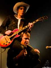 "Knut Schreiner ""Euroboy"", guitarrista de Turbonegro (Sala Jam, Bergara, 2003)"
