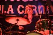 Tjeerd Cannegieter, baterista de Lo-Lite, Funtastic Dracula Carnival, Benidorm. 2015