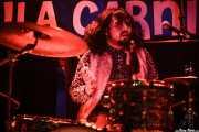 Esteban Grisey, baterista de Les Grys-Grys, Funtastic Dracula Carnival, Benidorm. 2015