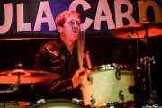 Dusty Watson, baterista de The Sonics, Funtastic Dracula Carnival, Benidorm. 2015