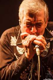 Rob Lind, saxofonista y armonicista de The Sonics, Funtastic Dracula Carnival, Benidorm. 2015