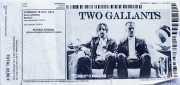 Entrada de Two Gallants