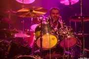 Michael, baterista de Rollin' Dice, Kafe Antzokia, Bilbao. 2015