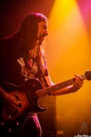Gorka, guitarrista de Rollin' Dice, Kafe Antzokia, Bilbao. 2015