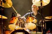 Terry Chimes, baterista de The Crunch, Kafe Antzokia, Bilbao. 2015