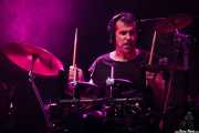 Igor Imaz, baterista de Mamba Beat, BIME festival, Barakaldo. 2015