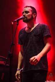Mikel Piris, cantante, saxofonista, flautista y samplers de Mamba Beat, BIME festival, Barakaldo. 2015