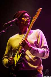Cole Smith, guitarrista de Darwin Deez, BIME festival, Barakaldo. 2015