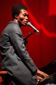 Benjamin Clementine, cantante y pianista, BIME festival, Barakaldo. 2015