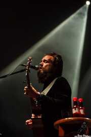 Samuel Beam, cantante y guitarrista de Iron & Wine, BIME festival, Barakaldo. 2015