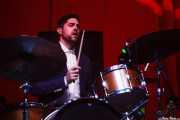 Pinson Chanselle, baterista de Matthew E. White, BIME festival, Barakaldo. 2015