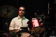 Matthew Meyer, baterista de Pokey LaFarge, BIME festival, Barakaldo. 2015