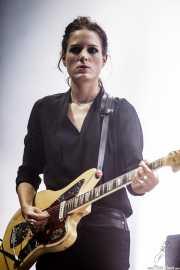 Gemma Thompson, guitarrista de Savages, BIME festival, Barakaldo. 2015