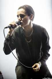 Jehnny Beth, cantante de Savages, BIME festival, Barakaldo. 2015