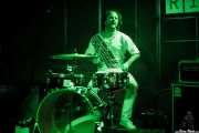 Ander my Wheels, baterista de Cabezafuego, La Ribera, Bilbao. 2015