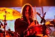 Russell Simins, baterísta de The Jon Spencer Blues Explosion, Santana 27, Bilbao. 2015