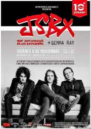 Cartel de The Jon Spencer Blues Explosion, Santana 27, Bilbao.