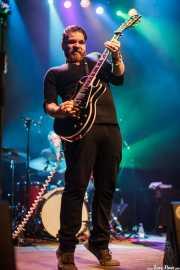 Matt Hill -guitarra- y Charles Jones -baterista- de Nikki Hill, Kafe Antzokia, Bilbao. 2015