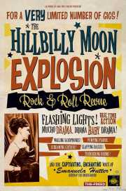 Cartel de The Hillbilly Moon Explosion, Kafe Antzokia, Bilbao.