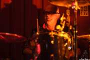 Tim James, baterista de The Godfathers (Satélite T, Bilbao)